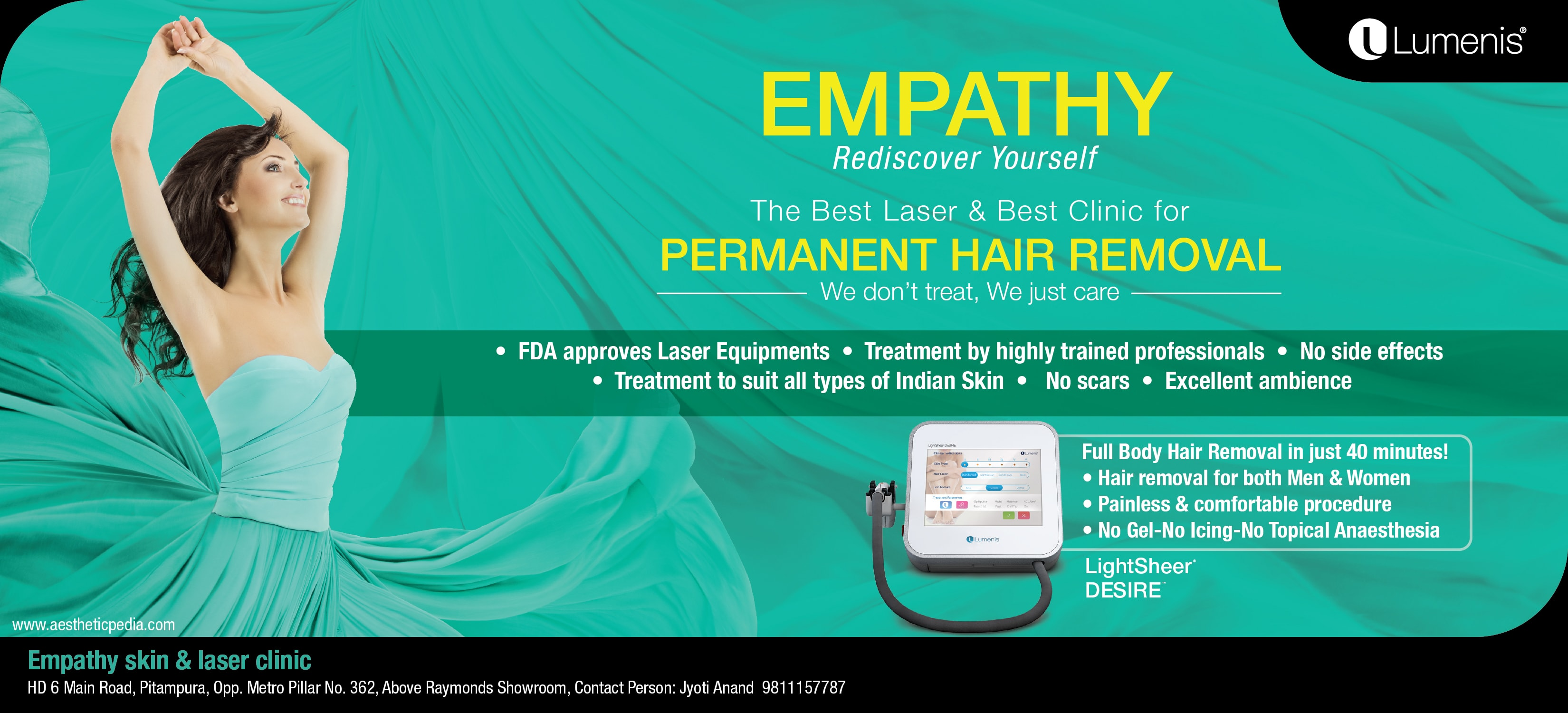 Laser Hair Removal Delhi Full Body Laser Hair Removal Clinic